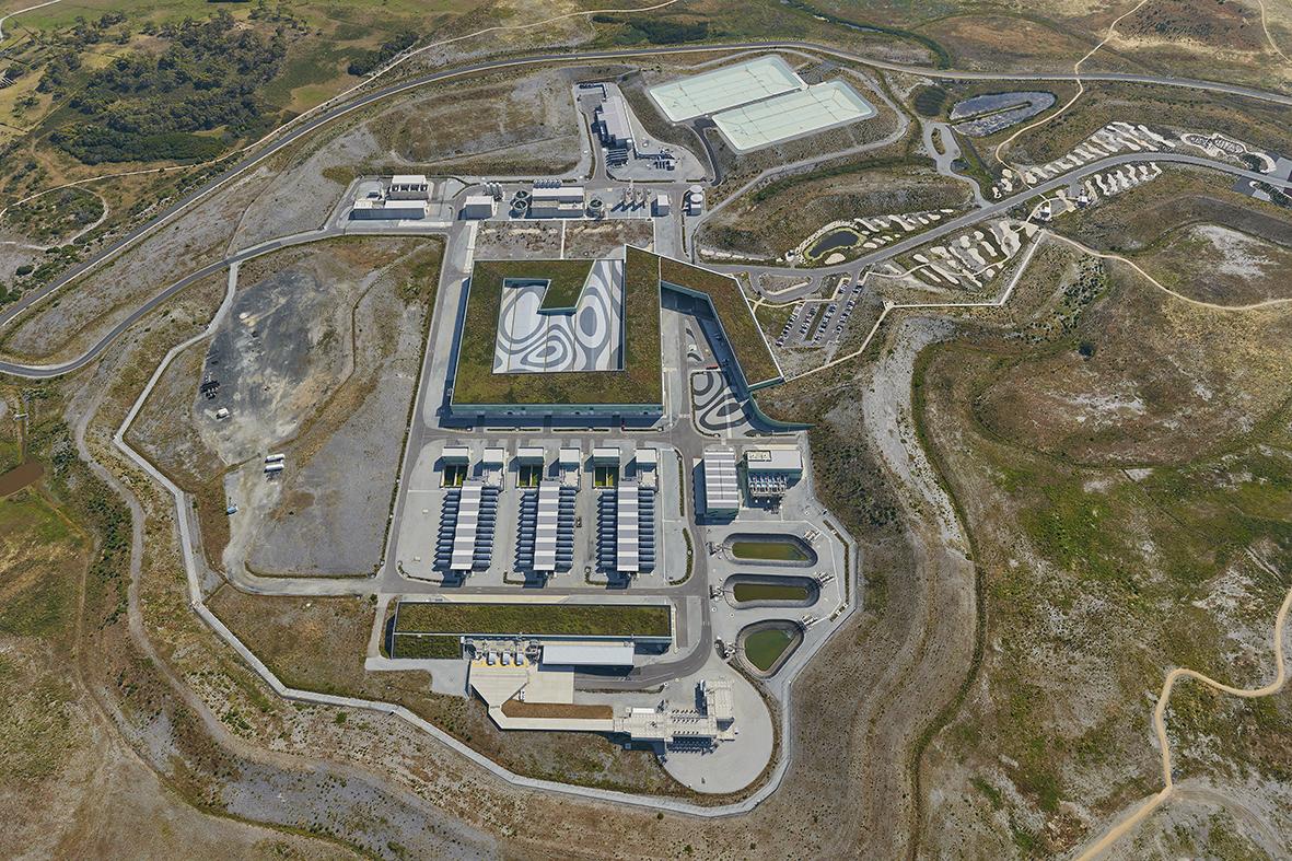 Victorian desalination plant site