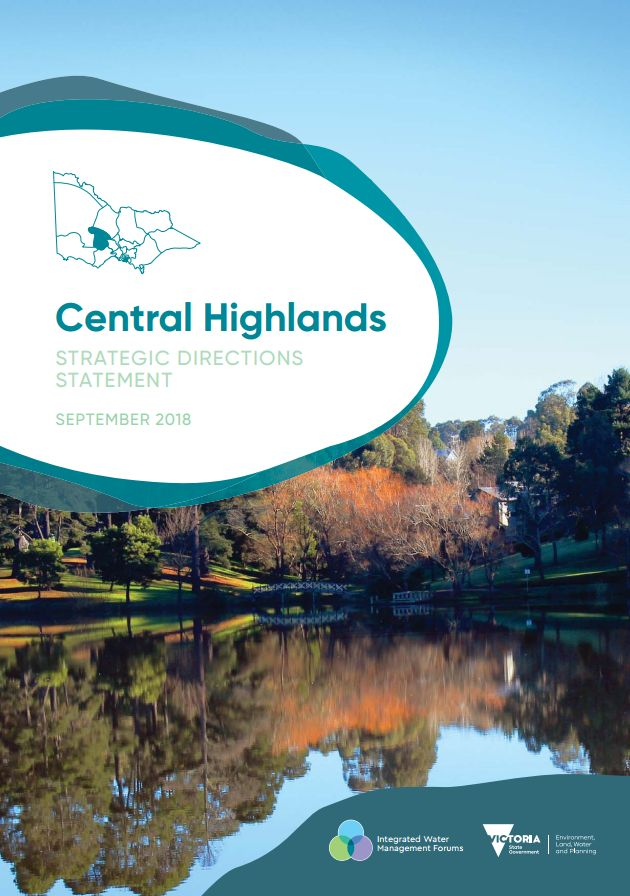 Central Highlands Strategic Directions Statement front cover