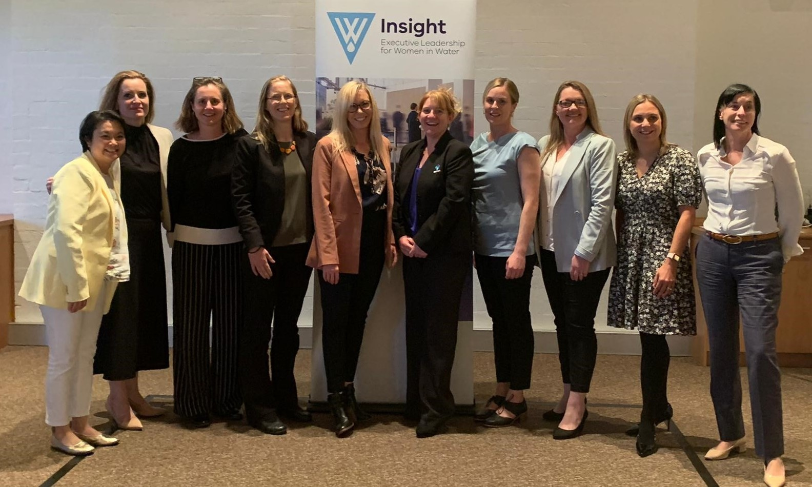 A group image of the 2020 Insight participants at their graduation.