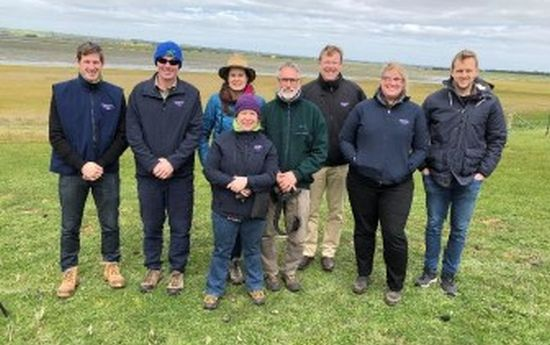 DELWP investors and Glenelg Hopkins CMA steering committee and project team members including Nature Glenelg Trust at Green Swamp.
