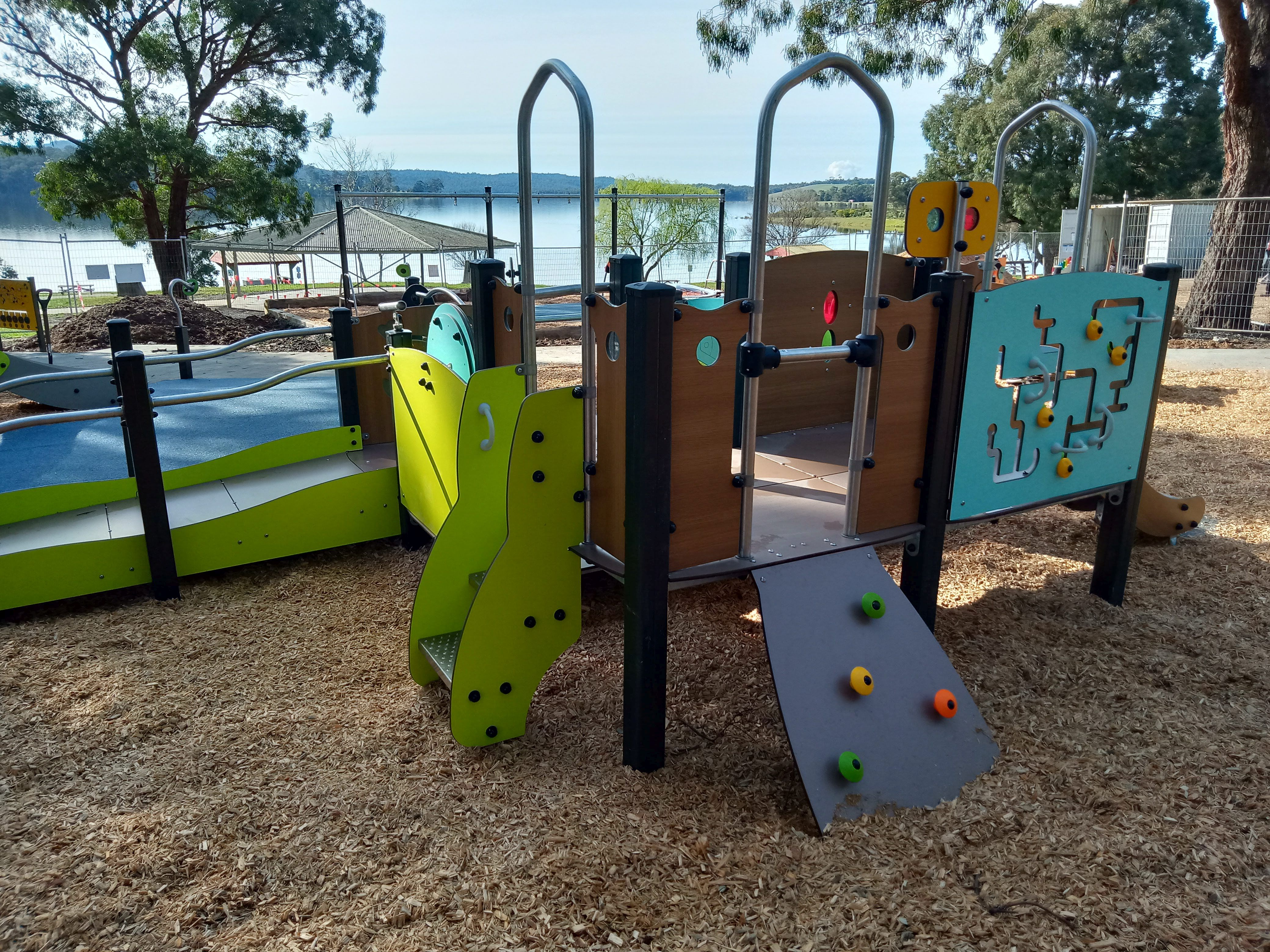 The all-abilities adventure playground at Blue Rock Lake