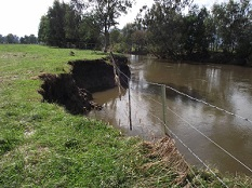 Jeremal Creek damaged by floods in North East Victoria