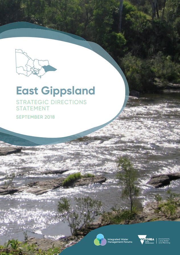 East Gippsland Strategic Directions Statement front cover