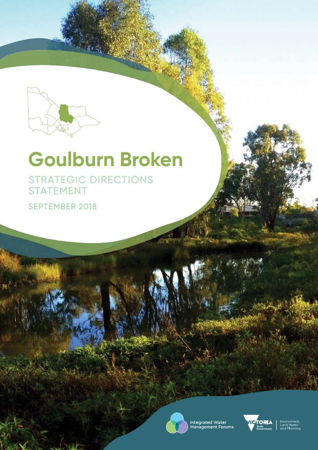 Goulburn Broken Strategic Directions Statement front cover