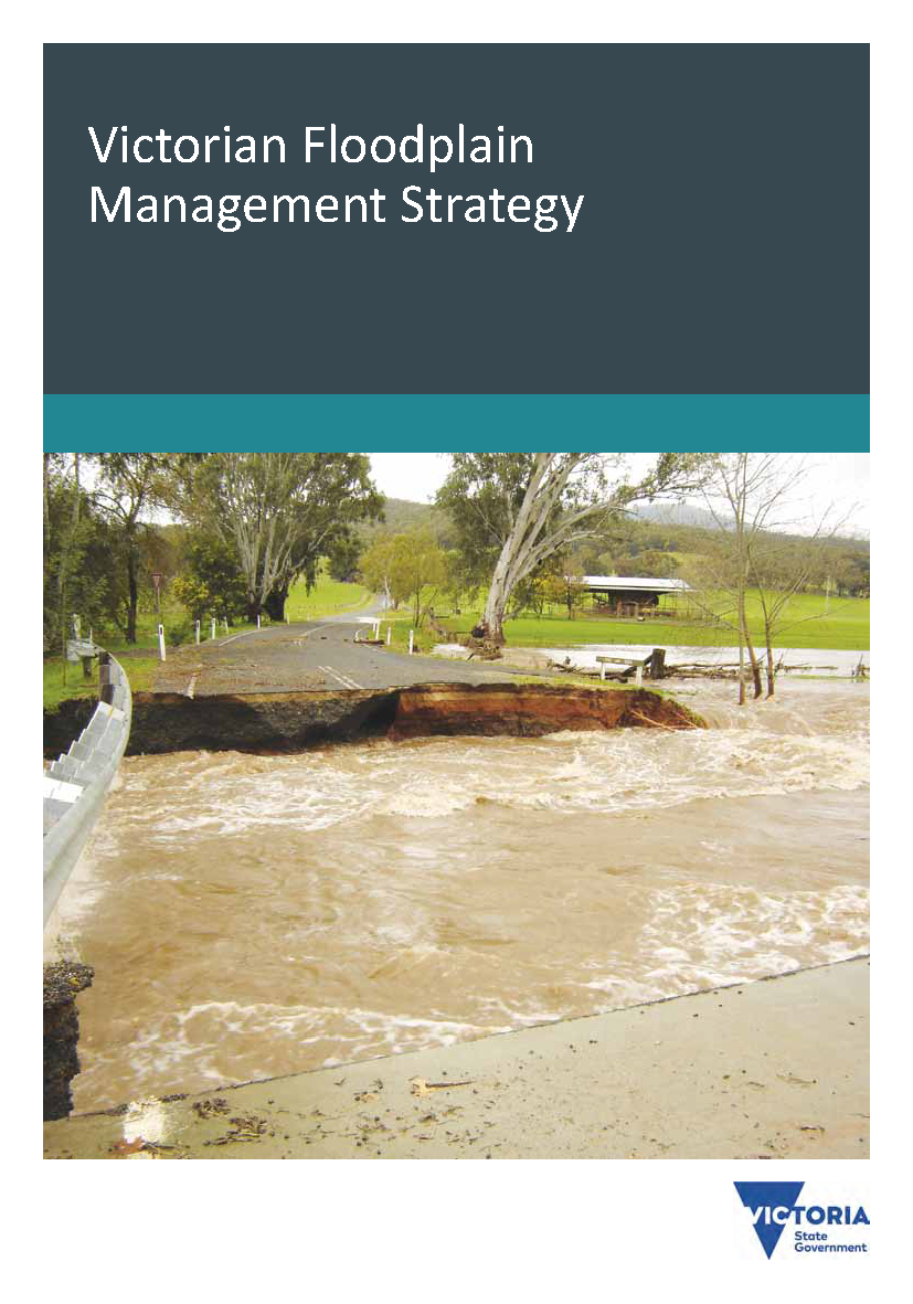 Cover page of the Victorian Floodplain Management Strategy