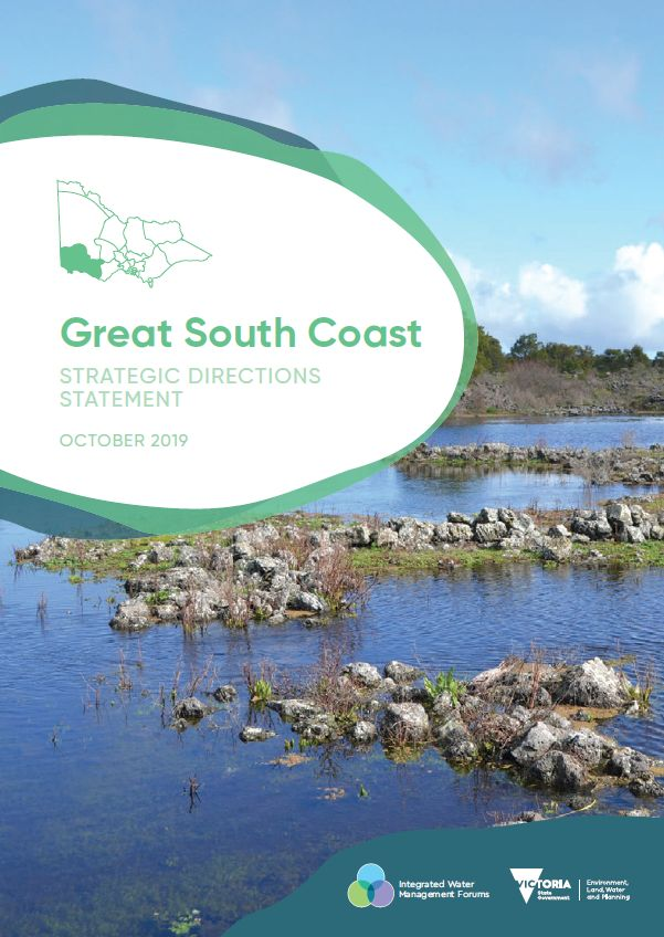 Front cover of Great South Coast Strategic Directions Statement