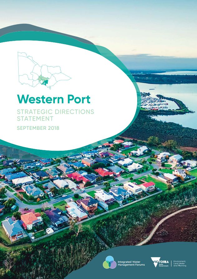 Front cover of Western Ports Strategic Directions Statement