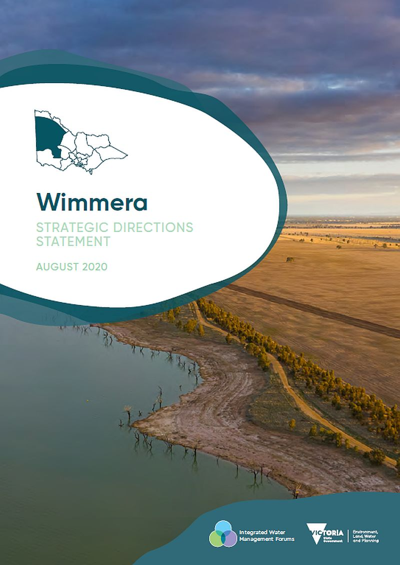 Front cover of Wimmera Directions Statememt